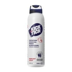 KICK THE TICK Max Repelent Plus spray 200m