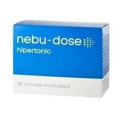 Nebu-Dose roztw hipert.do inhal. 30amp.