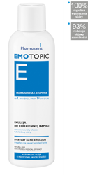 PHARMACERIS EMOTOPIC Emulsja do kąpieli 200ml