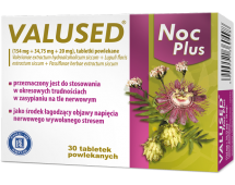 Valused Noc Plus, 30 tabletki.powlekane