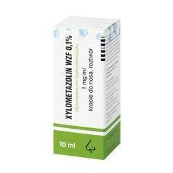 Xylometazolin WZF 0.1% krople do nosa 10ml