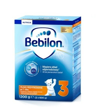 Bebilon Junior 3 z Pronutra+ proszek 1200g