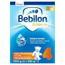 Bebilon Junior 4 PRONUTRA-ADVANCE proszek 4 x 1100 g