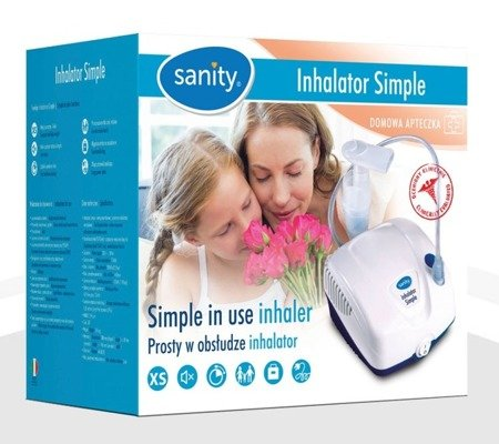 Inhalator SANITY Simple smart & easy 1 szt.