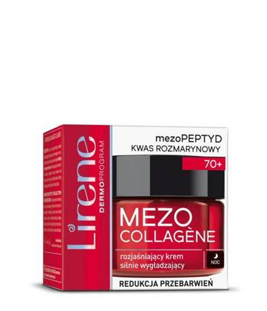 LIRENE MEZO COLLAGENE 70+krem n/noc 50ml k