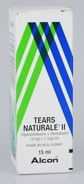 Tears Naturale II krople do oczu 15ml